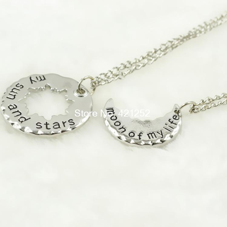 20pcs My Sun and Stars - Moon of My Life Game of Thrones Necklace Antique Bronze